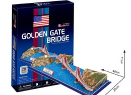 Cubic Fun - Пъзел 3D Golden Gate Bridge 20ч. C078